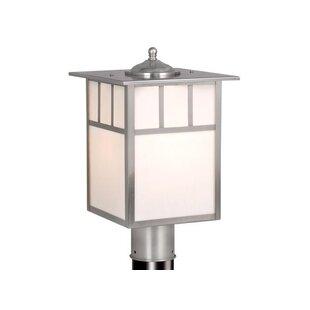 Modern post lighting allmodern joelle outdoor 1 light lantern head aloadofball Gallery