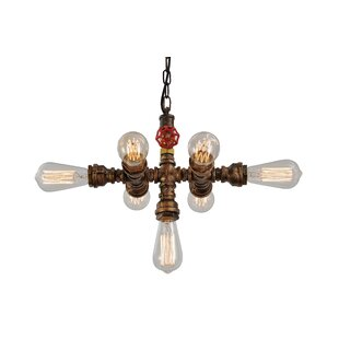 Unitary 7-Light Sputnik Chandelier