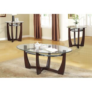 Phebe 3 Piece Coffee Table Set