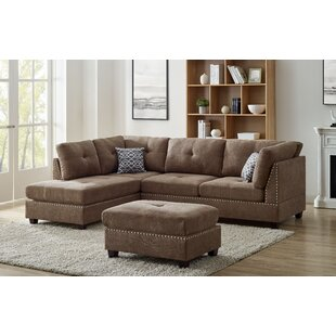 Brown Microfiber Sectionals You Ll Love In 2021 Wayfair