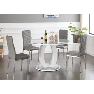 Seniz Dining Set With 6 Chairs By Ebern Designs