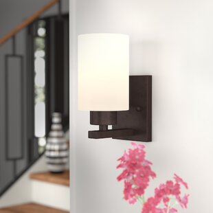 Nara 1-Light Armed Sconce by Wrought Studio