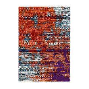Move Orange/Black/Purple Rug by Arte Espina