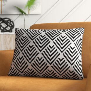 Mancilla Geometric Arrow Outdoor Lumbar Pillow