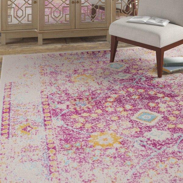 Bungalow Rose Vedika Pink Beige Area Rug Reviews Wayfair