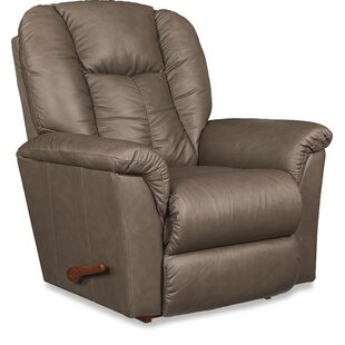 Jasper Leather Manual Rocker Recliner La-Z-Boy