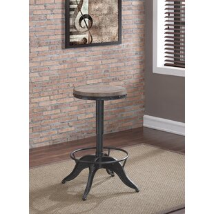 Meldrum Adjustable Height Swivel Bar Stool by Williston Forge