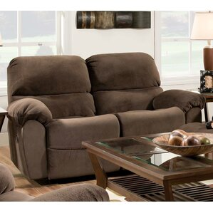 Cleves Rocking Reclining Loveseat by Chelsea Home