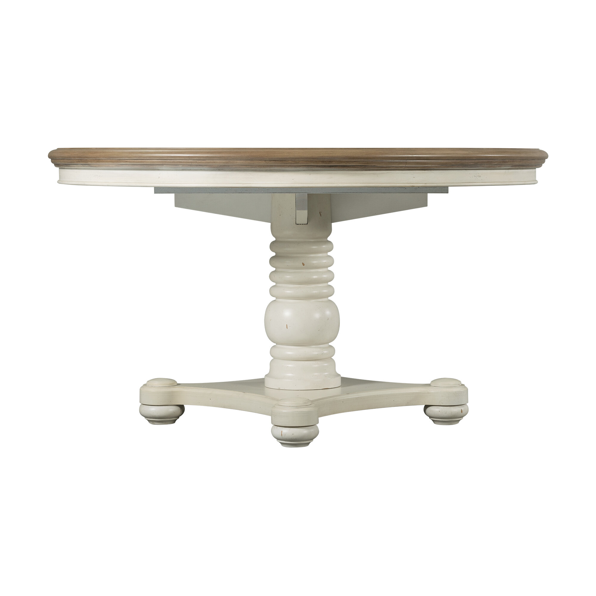 August Grove Miner Extendable Solid Wood Dining Table