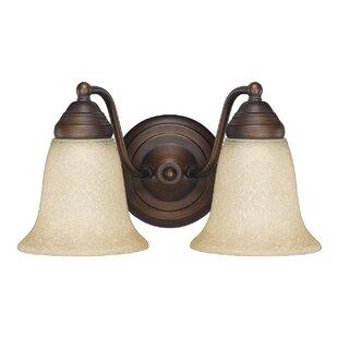 Savings Lunde 2-Light Vanity Light By Winston Porter