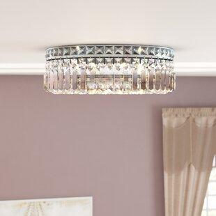Willa Arlo Interiors Anjali Glam 5-Light Flush Mount