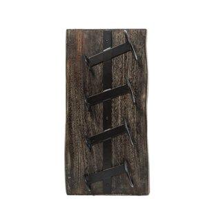 Read Reviews Pinkert 4 Bottle Wall Mounted Wine Rack
