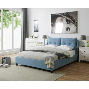 Kenora Upholstered Bed Frame By Ebern Designs