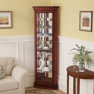 Corner China & Curio Cabinets You\'ll Love | Wayfair
