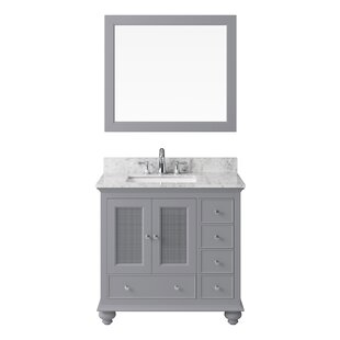 Larry 36 Single Bathroom Vanity Set with Mirror by Darby Home Co