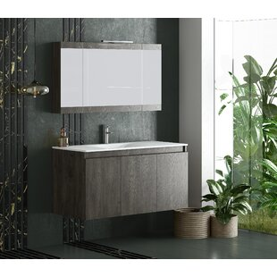 Oceanne Floating 36 Wall Mount Single Bathroom Vanity Set by Latitude Run