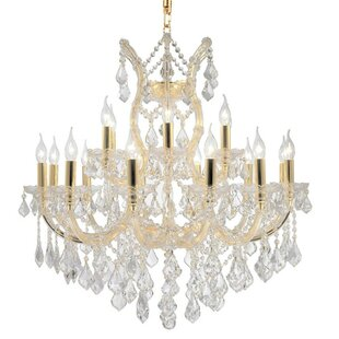Astoria Grand Kiazolu Glam 19-Light Candle Style Chandelier