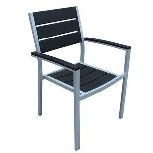 Kairo Stacking Patio Dining Chair with Cushion
