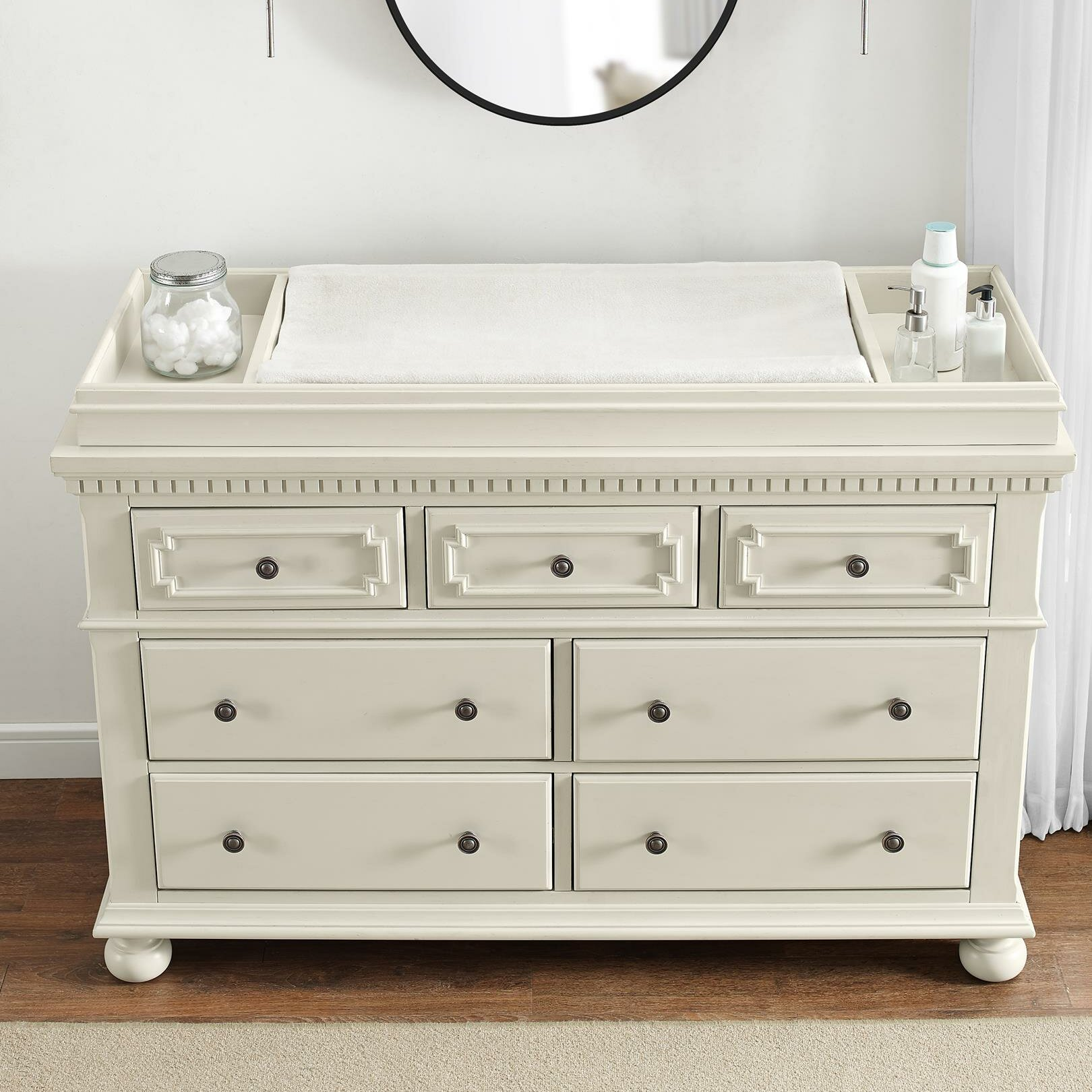 Image of: Bertini Vernay Changing Table Dresser Reviews Wayfair