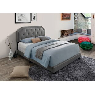 Makenna Upholstered Panel Bed by Alcott Hill