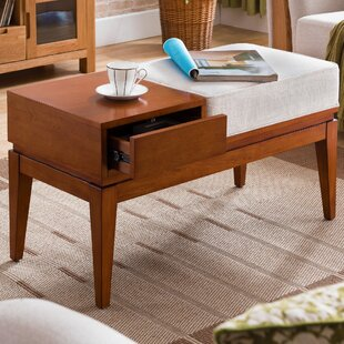 Crandell 1 Drawer Coffee Table with Storage