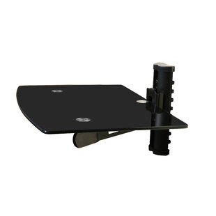 Compare & Buy Wall Mounted TV and Component Shelf Combo DVD DVR VCR Wall Mount Bracket By Mount-it