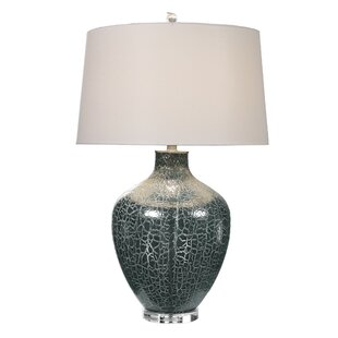 Kortney Crackled 30 Table Lamp
