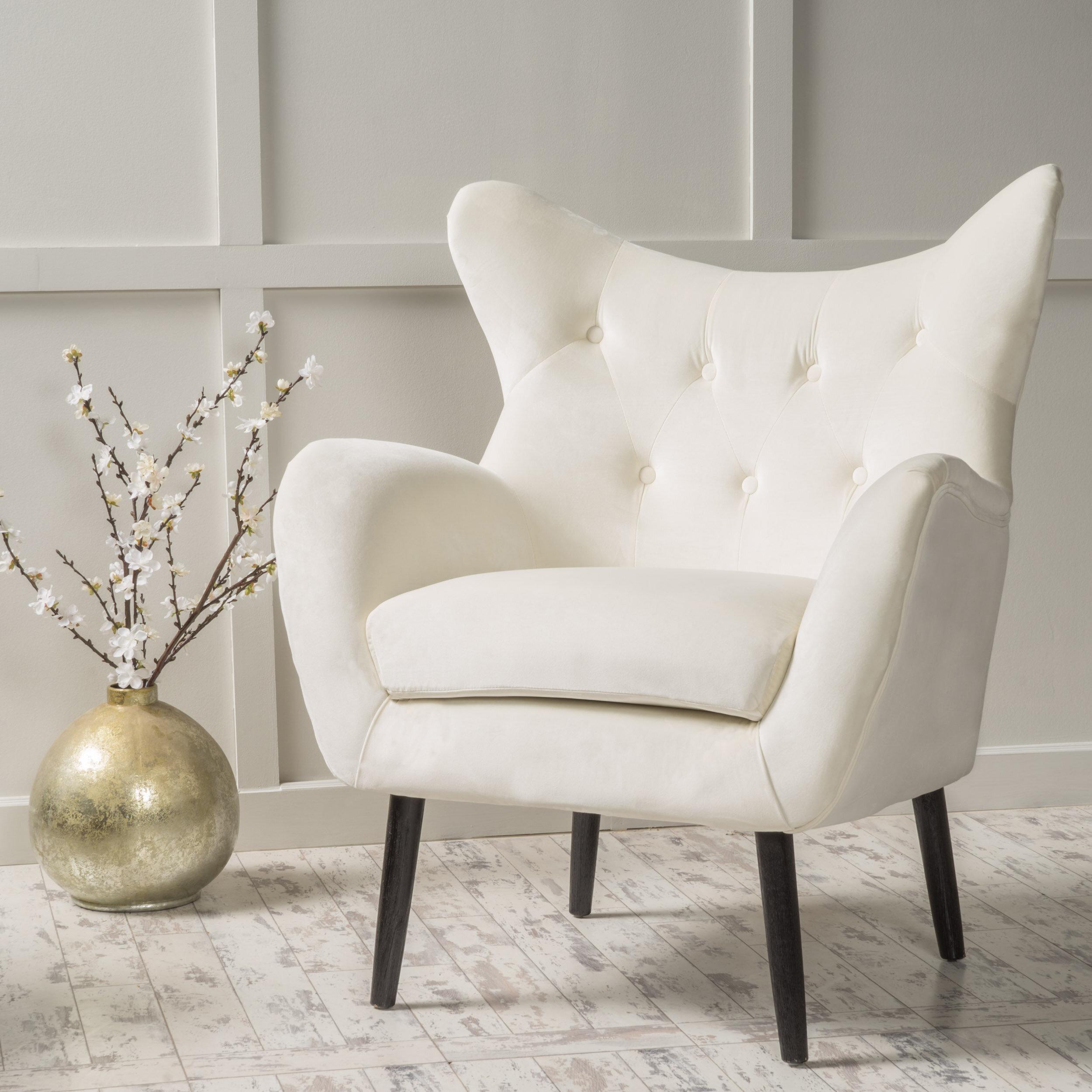 Willa Arlo Interiors Bouck 21 Wingback Chair Reviews Wayfair Ca