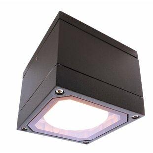 Mob 1-Light LED Outdoor Flush Mount By Deko Light