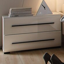 Elliott 2 Drawer Nightstand by Orren Ellis