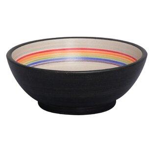 Best Fango Ceramic Circular Vessel Bathroom Sink By Barclay