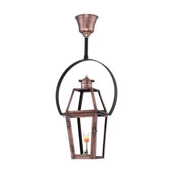 Primo Lanterns Orleans Aged Copper 3 Bulb 27 H Outdoor Hanging Lantern Wayfair