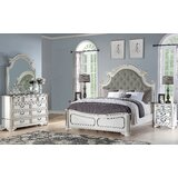 Meghan Standard 5 Piece Bedroom Set by Ophelia & Co.
