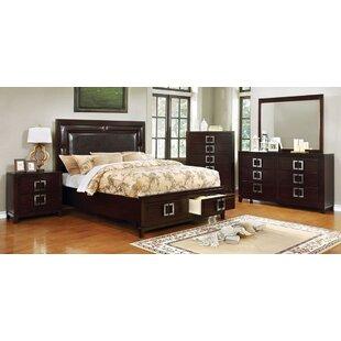 Roark 4 Piece Bedroom Set Set of 5 by Alcott Hill