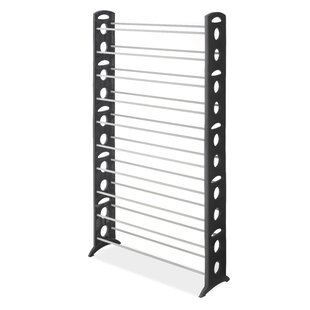 Whitmor, Inc Floor 10-Tier 50 Pair Shoe Rack