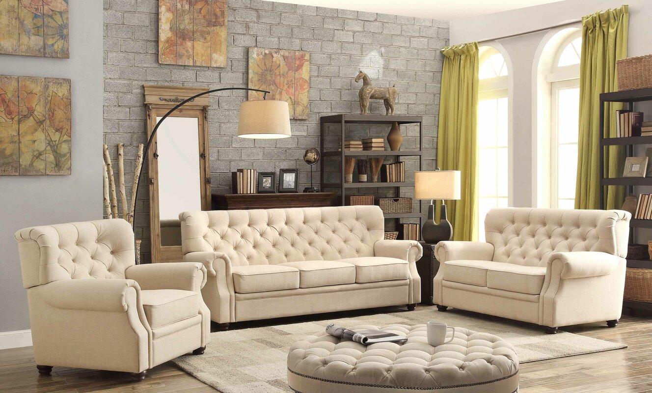 Exceptional Ventura 3 Piece Living Room Set Part 11