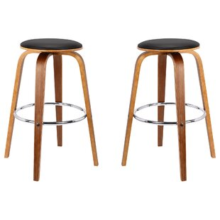 Nataly Backless Wood 30.7 Bar Stool (Set of 2) by Corrigan Studio