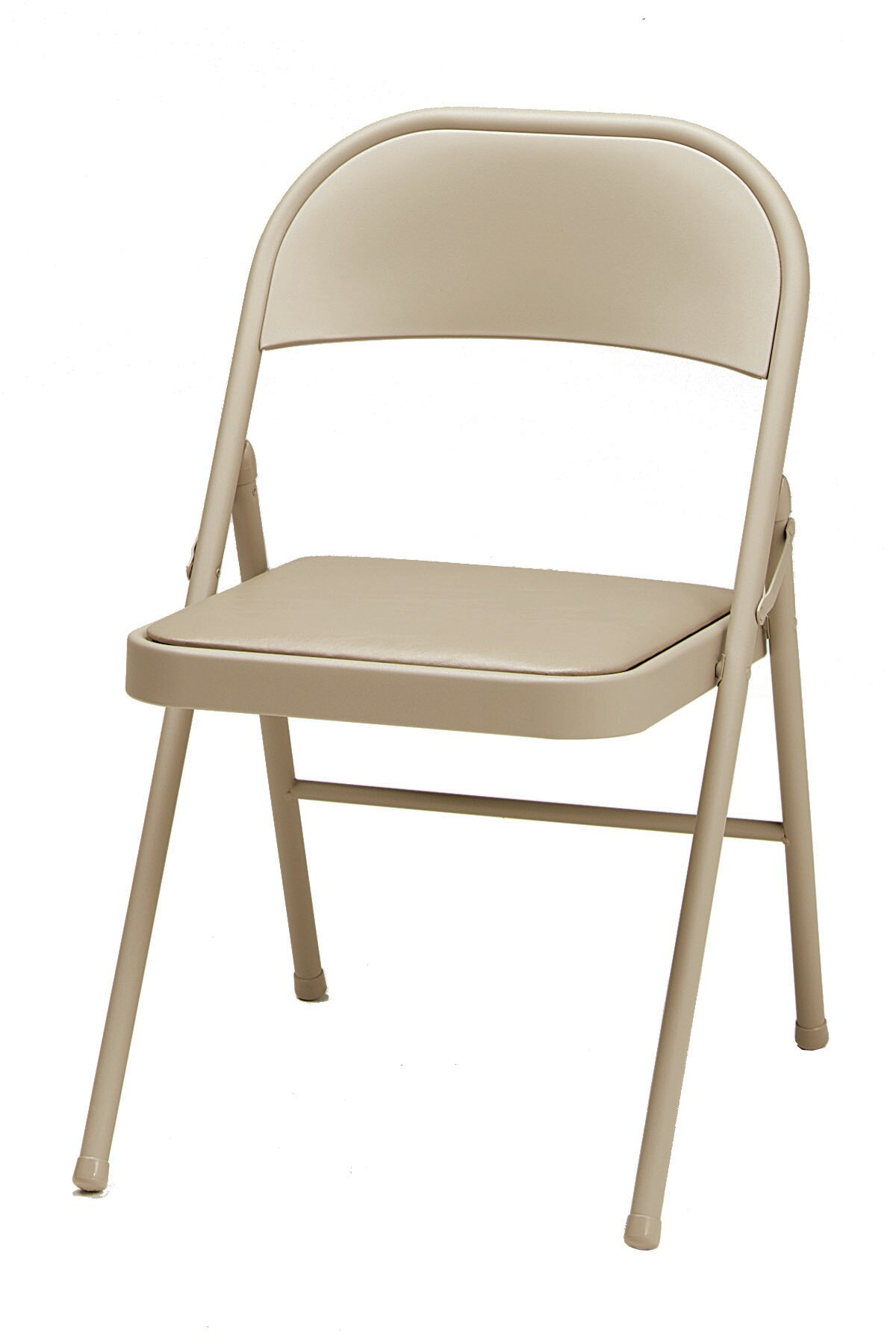 Sensational Single Vinyl Padded Folding Chair Theyellowbook Wood Chair Design Ideas Theyellowbookinfo