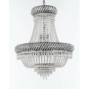 Pearlman 9-Light LED Empire Chandelier by House of Hampton