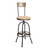 Harless Adjustable Height Bar Stool by Williston Forge