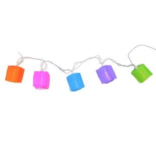 Northlight Seasonal 9.5 ft. 10-Light Lantern String Lights