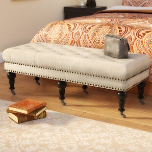Charlton Home Sands Upholstered Bench