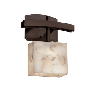 Conovan 1-Light Armed Sconce by Rosecliff Heights