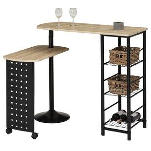 Homebar With Wine Shelf By Symple Stuff