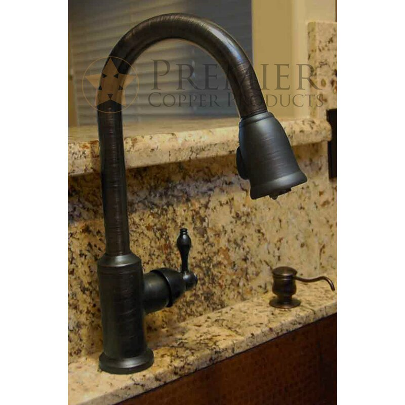 K PD01ORB Single Handle Kitchen Faucet