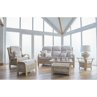 Humphries 4 Piece Conservatory Sofa Set By Beachcrest Home