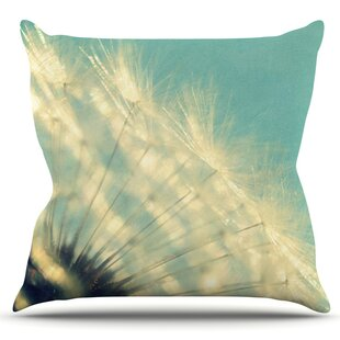 Just Dandy By Robin Dickinson Outdoor Throw Pillow by East Urban Home