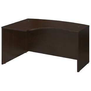 Series C Left Bow Corner Desk Shell by Bush Business Furniture Great price