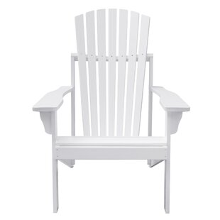 Mahler Patio Solid Wood Adirondack Chair