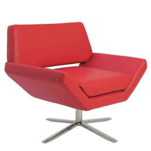 Wade Logan Cohen Swivel Lounge Chair